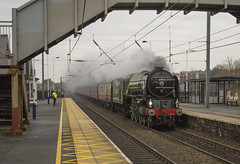 60163 Tornado (MitchellTurnbull) Tags: a1 60163 tornado 462 lner london north eastern railway chester le street nikon d3200 rail photography mainline main line steam locomotive
