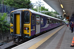 Northern Super Sprinter 153316 (Will Swain) Tags: salford crescent station 24th july 2018 arriva group greater manchester city centre north west train trains rail railway railways transport travel uk britain vehicle vehicles england english europe northern super sprinter 153316 class 153 316