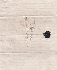 ASH2-034d Letter from G E Jemmett, Ashford, 20 May 1828 (audinary_music) Tags: ashford kent