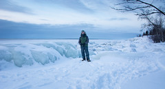 Cold Morning on Lake Superior (Mark Polson) Tags: lakesuperior markpolson ice tettegouchestatepark mn schroeder