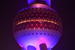 Shanghai - Ballsy ;-) (cnmark) Tags: china shanghai pudong lujiazui pearl orient pearloftheorient tv tower building night bright colored coloured light nacht nachtaufnahme noche nuit notte noite 中国 上海 浦东 陆家嘴 东方明珠 东方明珠电视塔 ©allrightsreserved