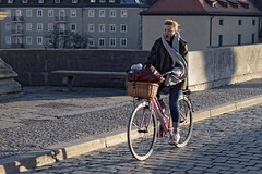 The Early Bird (picsessionphotoarts) Tags: yawning nikon nikonphotography nikonfotografie nikond850 festbrennweite primelens streetportrait downtown afsnikkor85mmf18g streetphotography moments snapshot schnappschuss streetphotographyincolors fahrrad bike bicycle