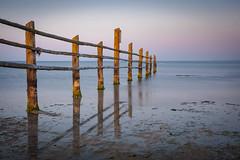 Nordstrand (tosch_fotografie) Tags: baltic sea ostsee naturschutz kernzone meer flut wellen strand sand sonnenuntergang sunset spiegelung reflections wasser water olympus