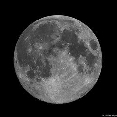 Almost Full Moon (testdummy76) Tags: moon mond astro astronomie astronomy astrophotography astrofotografie