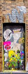 God Save the Freaks (HVHY4C3E7S3Y3Q3HRVKYFJJLOK) Tags: graffiti art flyposting bricklane london