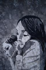 Schwan (Christian Haupt) Tags: stencil serigrafie sprayart spraypaint art malerei monochrom painting pochoir acryl