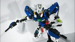 LEGO Gundam Exia GN-001 Blanc et Noir (demon1408) Tags: lego gundam exia 00 gn 01 seven swords setsuna celestial being figure mecha moc creation brick hero factory bionicle technic blanc noir