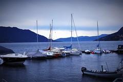 Buon fine settimana (ornella sartore) Tags: lago barche inverno colori natura allaperto
