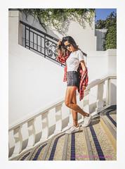 Joy - Escalier (christophe plc) Tags: fille girl model sexy pretty joy nice stairs escalier modele sun holidays summer thailand pattaya christopheplc plouhinec fashion mode boutique flickr photo pic canon 6dmarkii 6dmark2 portrait photographer asian