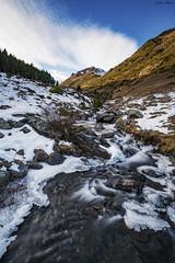Riu de Filià (sostingut) Tags: d750 nikon tamron haida río nieve hielo montaña bosque valle arroyo invierno árbol roca agua nube cielo paisaje