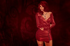 Lady in Red (JMB Balogh) Tags: secondlife ison ladyinred