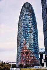 Torre Agbar Barcelona (Miradortigre) Tags: torre tower agbar barcelona bcn jeannouvel arquitecto architect glories diagonal españa spain cataluña catalunya catalonia design diseño