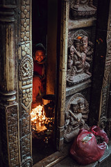 Seto Macchendranath (danielhibell) Tags: kathmandu nepal travel asia discover explore world street streetphotography people religion culture ambience mood buddhism hinduism colour light praying moving special
