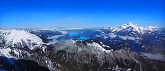FRANCE - Alps and Annecy Lake (Jacques Rollet (very little available)) Tags: france lac lake snow neige mountain montagne alps alpes landscape paysage winter hiver régionannecy