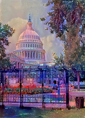 The US Capitol (Eclectic Jack) Tags: ddg generator dream deep processing processed process post manipulated dc washington