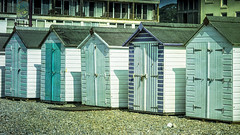 beach huts (Redheadwondering) Tags: sonyα7ii devon minolta minolta100200mm beach beachhuts seaton