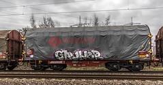 28_2019_01_16_Gelsenkirchen_Bismarck_6187_011_CTD_CAPTRAIN_mit_Coil-_und_Kohlezug_und_6185_501_CDT ➡️ Herne_Abzw_Crange (ruhrpott.sprinter) Tags: ruhrpott sprinter deutschland germany allmangne nrw ruhrgebiet gelsenkirchen lokomotive locomotives eisenbahn railroad rail zug train reisezug passenger güter cargo freight fret bismarck bottropsüd ctd captrain db hctor hhpi 0632 1266 1232 1261 6152 6185 6187 6241 class66 vtgch rb42 hochspannungsmast kraftwerk herne dorsten dortmund logo natur outdoor graffiti