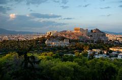 Athens. Attica, Greece (Ed.Moskalenko) Tags: athens parthenon acropolis attica greece europe historic building temple sunset travel heritage tourism