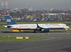US Airways                                Boeing 757                                  N204UW (Flame1958) Tags: usairways usair usairwaysb757 usairb757 n204uw boeing757 boeing b757 757 ams eham amsterdam schiphol amsterdamschiphol schipholairport 101213 1213 2013 0935 schipol amsterdamschipol schipolairport