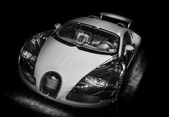 VEYRON (Dave GRR) Tags: bugatti veyron super supercar hypercar luxurycar racing motorsport toronto auto show 2019 monochrome mono bw olympus