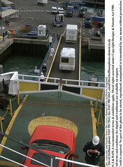"""cars leaving f (hoffman) Tags: barrier boat ferry harbour hardhat jetty passenger port sea seaman seamen ship travel vertical 181112patchingsetforimagerights dover uk davidhoffman davidhoffmanphotolibrary socialissues reportage stockphotos""""stock photostock photography"""" stockphotographs""""documentarywwwhoffmanphotoscom copyright"""