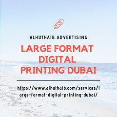 LARGE FORMAT DIGITAL PRINTING DUBAI (alhuthaibadvertising) Tags: roll up banner dubai pop large format digital printing