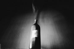 Джин (polosataia3) Tags: магия бутылка джин черное чб дым дух движение