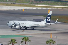 B737 N403SA Los Angeles 22.03.19 (jonf45 - 5 million views -Thank you) Tags: airliner civil aircraft jet plane flight aviation lax los angeles international airport klax alaska airlines boeing 737 n403sa