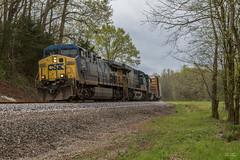 The Furnace at Kingston (travisnewman100) Tags: csx train railroad freight manifest locomotive ac44cw es40dc gp403 ge emd yn2 yn3 yn3b wa subdivision atlanta division kingston m782