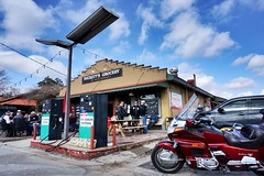 Puckett's Leiper's Fork Franklin, TN (Laurence's Pictures) Tags: pucketts grocery leipers fork gas petroleum station service oil petrol biker bar 1950s south southern nashville tennessee tourist franklin county country western music city