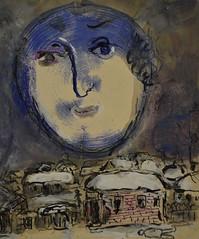 Lune-visage, vers 1968 (RarOiseau) Tags: peinture art chagall aixenprovence paca musée bouchesdurhône