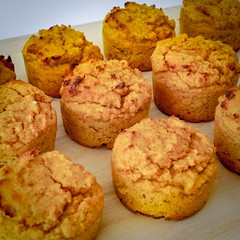 2019.02.08 Low Carbohydrate, Healthy Fat Pumpkin Muffins with Cream Cheese Filling, Washington, DC USA 09735
