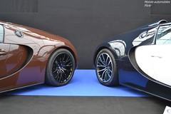 Double Veyron ! (Monde-Auto Passion Photos) Tags: voiture vehicule auto automobile bugatti veyron super sport grand duo combo double sportive supercar hypercar rare rareté bicolore france paris vente enchère sothebys vauban