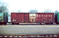CB&Q Class XM-4B 49280 (Chuck Zeiler54) Tags: cbq class xm4b 49280 burlington railroad boxcar box car freight cicero train chuckzeiler chz