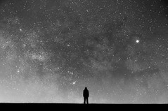 """Space"" (alexander_skaletz) Tags: night milkyway summer landscape landscapephotography nature photography field dark warm blue sky space nightskys panorama village germany badenwürtemberg nikon d5300 nikond5300 tree stars milkywaychasers summernight longexposure himmel baum"