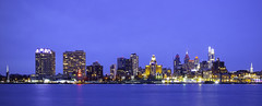 Philadelphia from Camden (Nick Burwell) Tags: philly philadelphia waterfront cityscape blue hour canon 6d sigma pennsylvania