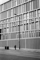 Waiting for the Sun (daniele_longo) Tags: blackandwhite pentax filmphotography ishootfilm architecture lines streetphotography analog