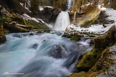 One icy shoot (Matt Straite Photography) Tags: waterfall water river snow ice winter color oregon landscape tripod rainbow