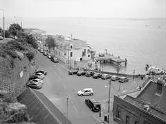 Cobh Harbour, 2016 (nikolaijan) Tags: fuji gs645s acros100 blackandwhite bw 120 645 cobh ireland