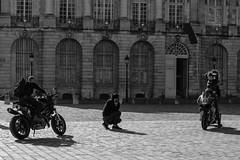 DSCF2098 (LexomIA) Tags: bordeaux street urbain bw nb streetphotography