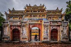 Imperial City Hue (bransch.photography) Tags: ancient monarchy asia architecturalelement monument destination royal majestic imperialcity architecture gate wall fort vietnamese asian vietnam unesco building art castle old landmark forbidden palace emperor outdoors magnificent entrance national culture famous archway colorful fortress beautiful travel citadel imperialcityhue history heritage indochina hue capital historical historic