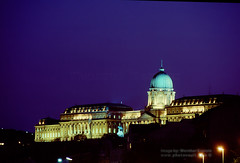 Buda Castle in the Evening Glow, Budapest (Vern Krutein) Tags: hill budacastle budavaripalota building budapest exterior outdoors outside jeannicolasjadot miklosybl alajoshauszmann complex nighttime night hungary hungarian travel scenics architecture europe european structure historic cehv01p0615