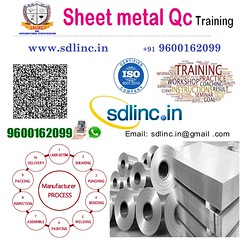 11 sheetmetal qc sdlinc quality control training 9600162099 (sdlincqualityacademy) Tags: coursesinqaqc qms ims hse oilandgaspipingqualityengineering sixsigma ndt weldinginspection epc thirdpartyinspection relatedtraining examinationandcertification qaqc quality employable certificate training program by sdlinc chennai for mechanical civil electrical marine aeronatical petrochemical oil gas engineers get core job interview success work india gulf countries
