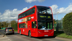 U-Loan (londonbusexplorer) Tags: metroline west dennis trident adl enviro 400 te728 lk07azd u4 uxbridge hayes prologis park tfl london buses