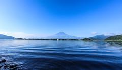 河口湖 Lake Kawaguchi (T.Muratani) Tags: 山梨県 夏 富士山
