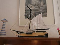 P1060855 (argo naut) Tags: lego 74 gun third rate ship line historical marine napoleonic era british empire model history bricks 32 frigate vessel rigging trafalgar waterloo