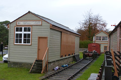 DFR Parkend Goods Shed P1440835mods (Andrew Wright2009) Tags: south wales gloucestershire uk scenic britain vacation holiday dean forest railway steam train heritage historic preserved parkend goods shed