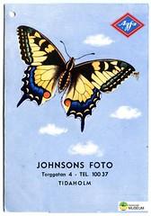TM_IKD 177 (Tidaholms Museum) Tags: föremål items objects bok böcker book books print paper textat papper fjäril djur animals animal butterfly reclam advertising reklam folder fotograf photographer