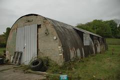 Nissen Hut (IntrepidExplorer82) Tags: ammunition depot ww2 second world war magazine royal navy cold sentry post nissen hut shelter bunker abandoned