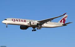 Qatar Airways Airbus A350-941 F-WZGF (A7-AME) / TLS (RuWe71) Tags: qatarairways qrqtr qatari qatar airbus doha airbusa350 airbusa350xwb a350 a359 a350xwb a350900 a350941 airbusa350900 airbusa350941 airbusa350900xwb fwzgf msn163 a7ame toulouseblagnac toulouseblagnacairport toulouse blagnac aéroportdetoulouse aéroporttoulouseblagnac lfbo tls widebody twinjet sharklets winglets landing sunshine clearsky bluesky